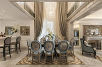 法式白色别墅 JPG