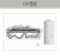 高速公路站区施工图纸 CAD