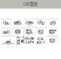 古城堡全套施工图