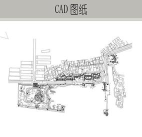 古港CAD总平面图