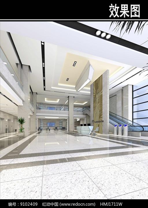 骨科医院大厅效果图图片
