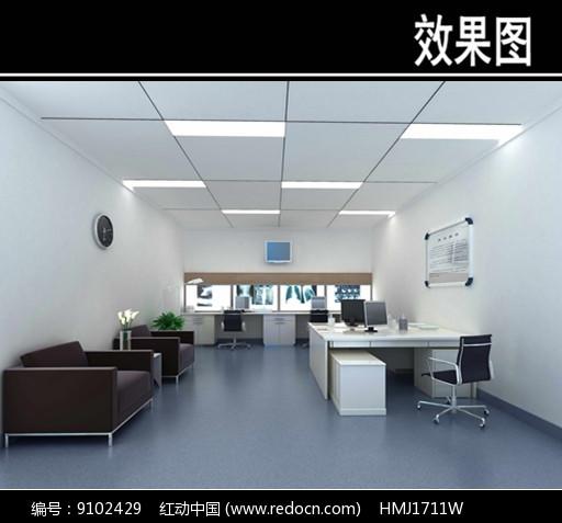 作品主题是骨科医院医生办公室效果图,编号是9102429,文件格式是jpg图片