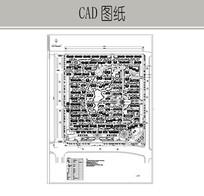 经典小区规划设计 CAD