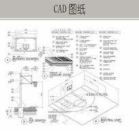 篮球场施工详图 CAD