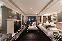 欧式公寓室内装修设计 JPG