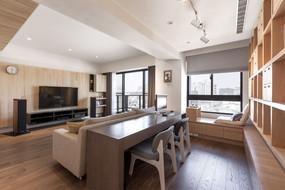 日式风格平房住宅客厅设计