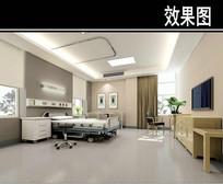 沈阳某医院vip病房效果图