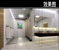 沈阳某医院卫生间效果图