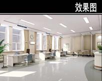 沈阳某医院综合急诊室效果图