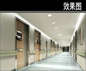 沈阳人民医院标准走廊