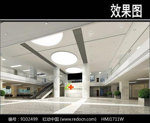 沈阳人民医院大堂效果图图片