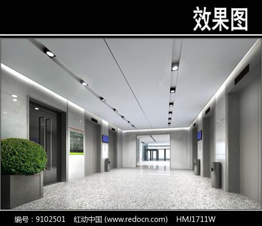 沈阳人民医院电梯厅图片