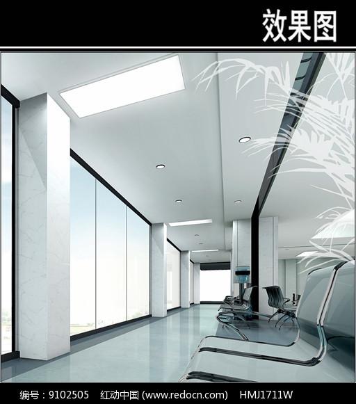 沈阳人民医院休息饮水区图片