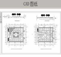 树阵广场CAD CAD