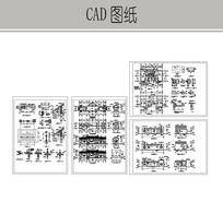 亭廊建筑施工图 dwg