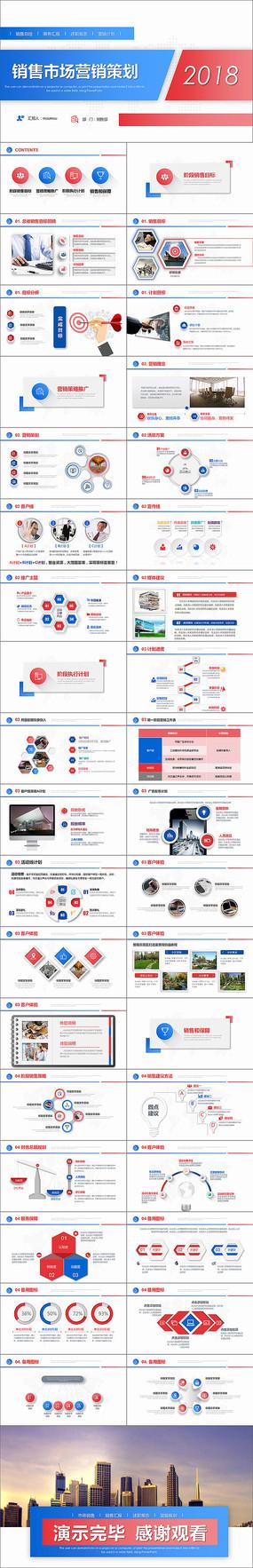 销售营销方案策划PPT模版