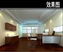 医院二楼诊室效果图