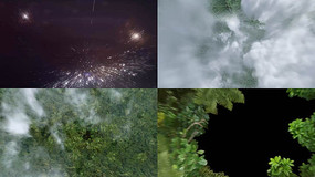 宇宙冲上地球视频