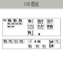 中国古典别墅施工图 dwg