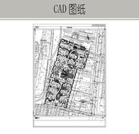 住宅区景观CAD图纸