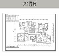 住宅室内设计平面 CAD