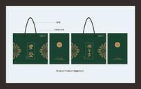 粽子礼品盒包装手提袋