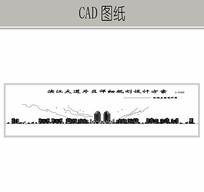 滨江小区沿街立面规划图