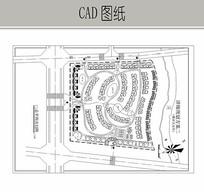 联排式小区规划设计图