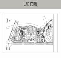 某行政中心修建性规划图