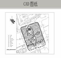 小区规划平面 CAD