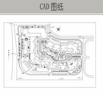 小区规划图 CAD