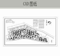 小区建筑景观总平面图