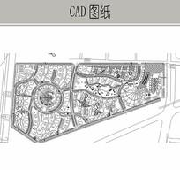 知名小区总图 CAD