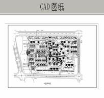 住宅区规划总平面图 CAD
