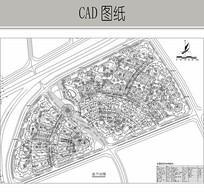 住宅区景观设计图纸 CAD