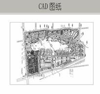 住宅区总平面图 CAD