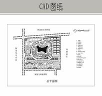 住宅小区规划平面图 CAD