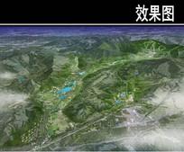 北大湖度假区鸟瞰图 JPG