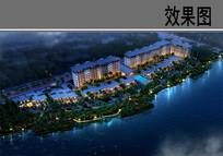 北京某住宅鸟瞰图
