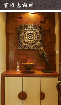 佛教玄关装饰家具