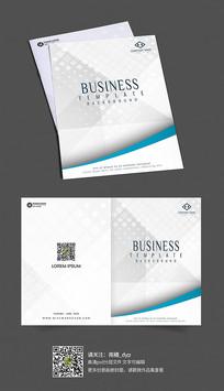 简约互联网企业画册封面设计