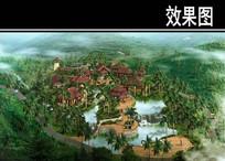 某旅游度假区青溪主题园效果 JPG