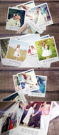 时尚图片叠加写真相册模板