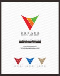 印刷广告公司企业文化标志