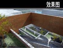 园林博物馆阶梯透视图 JPG