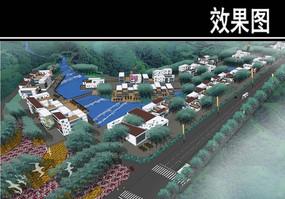 重庆某公园半岛别墅区入口效果