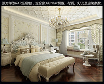 主卧室场景模型