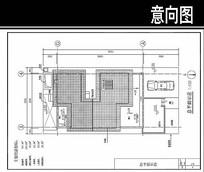Y型别墅平面图
