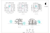 欧式别墅CAD图纸