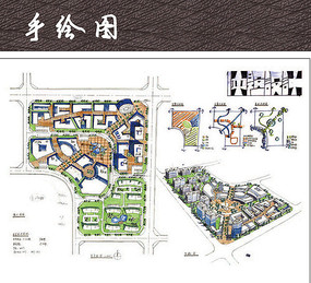 广场快题设计平面图 公园快题设计平面图图片